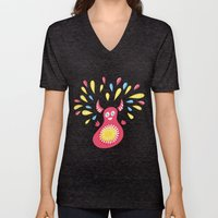 Happy Jumping Creature Unisex V-Neck