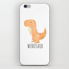 Winosaur | White Wine iPhone & iPod Skin