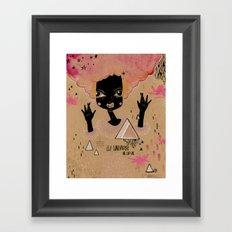 It's in us. Framed Art Print