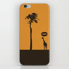WTF? Jirafa! iPhone & iPod Skin