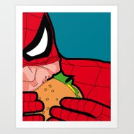 Art Print featuring The Secret Life Of Heroe… by Greg-guillemin