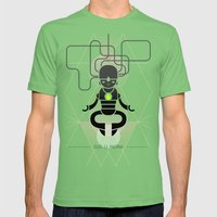 Deus ex machina Mens Fitted Tee Grass SMALL