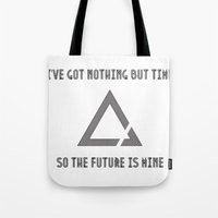 The Future Is Mine Tote Bag
