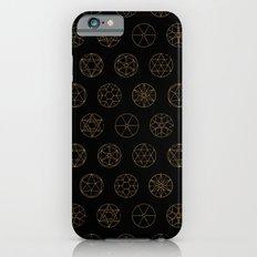 Geocircles (Golden) Slim Case iPhone 6s