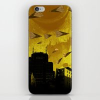 airplanes and cigarettes iPhone & iPod Skin