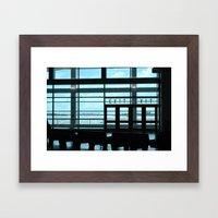 Exits Framed Art Print