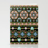 Millefiori Folkloric Stripe Stationery Cards