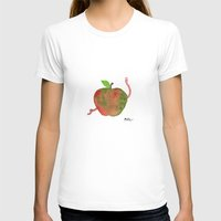 apple T-shirts featuring Apple by Phil McAndrew