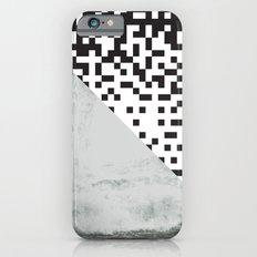 waves/grid #6 iPhone 6s Slim Case