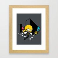Call of Dotty Framed Art Print