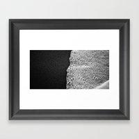 Half / Half Framed Art Print