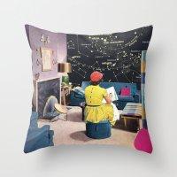 STAR CHART Throw Pillow