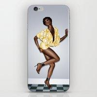 Black Sugar Silk iPhone & iPod Skin