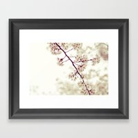 Music Of Spring Framed Art Print