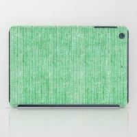 Stockinette Green iPad Case