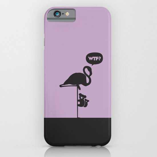 WTF? Flamenco! iPhone & iPod Case