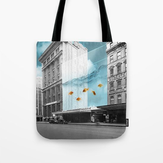 between the walls Tote Bag