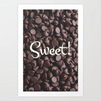 Sweet! Art Print