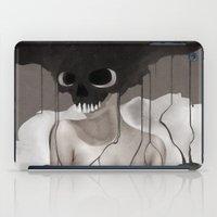 Death By Chocolate Monochrome iPad Case