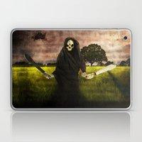 Death loves you Laptop & iPad Skin