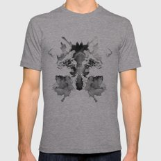 Rorschach Mens Fitted Tee Athletic Grey SMALL