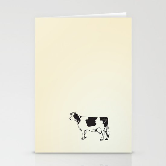Poor Cow. Stationery Card