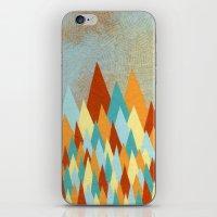 Triangle Rising iPhone & iPod Skin