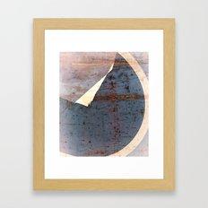overlaps III Framed Art Print