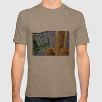 House plant Mens Fitted Tee Tri-Coffee SMALL