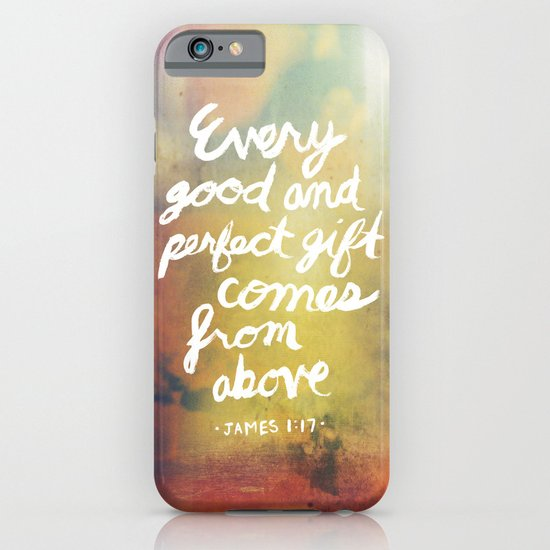 James 1:17 iPhone & iPod Case