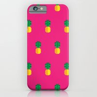 iPhone & iPod Case featuring Fruit: Pineapple by Christopher Dina
