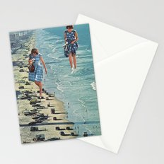 Walk on the Beach Stationery Cards