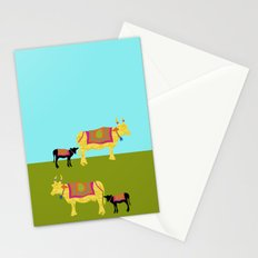Streets of India- Cows Stationery Cards
