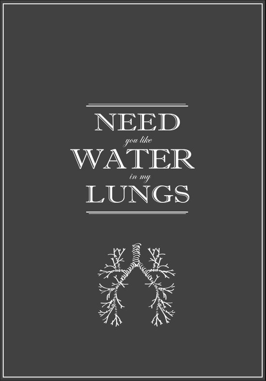 Water in my Lungs Art Print