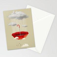 Saving the rain Stationery Cards