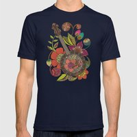 Ever Banjo Mens Fitted Tee Navy SMALL