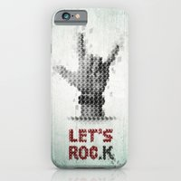 iPhone & iPod Case featuring Let's ROCK by krayon