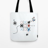 Tic Tac Tedium Tote Bag