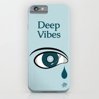 iPhone & iPod Case featuring Deep Vibes by Mumble
