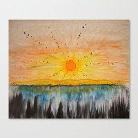 Island on the Sun  Canvas Print