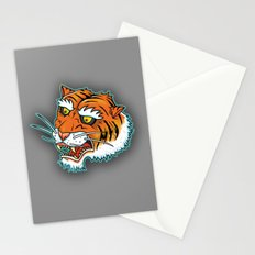 Bengal Tiger Angry Stationery Cards