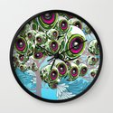 Apples for Ears Wall Clock