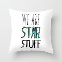 Star Stuff Throw Pillow