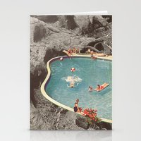 is this the place that they call paradise? Stationery Cards