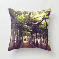 Lemon Grove In Ravello, … Throw Pillow