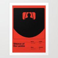 Silence of the Lambs Art Print