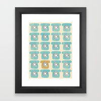 Rotary Phones Framed Art Print
