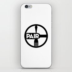 Food And Wine Pairing iPhone & iPod Skin