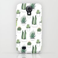 iPhone & iPod Case featuring Watercolour Cacti And Su… by Vicky Webb