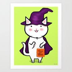 Hai I Is Trick Or Treating Art Print
